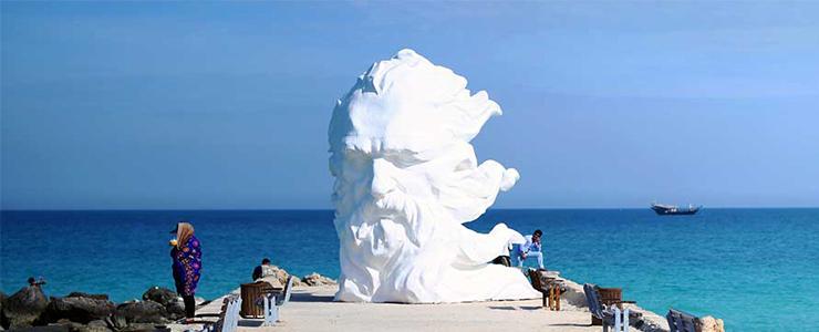 Image result for ساحل سیمرغ کیش