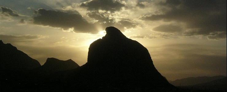 عقاب کوه تفت یزد، کوهی خسته از پرواز
