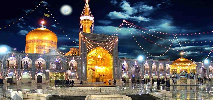 تصاویر مناطق دیدنی مشهد