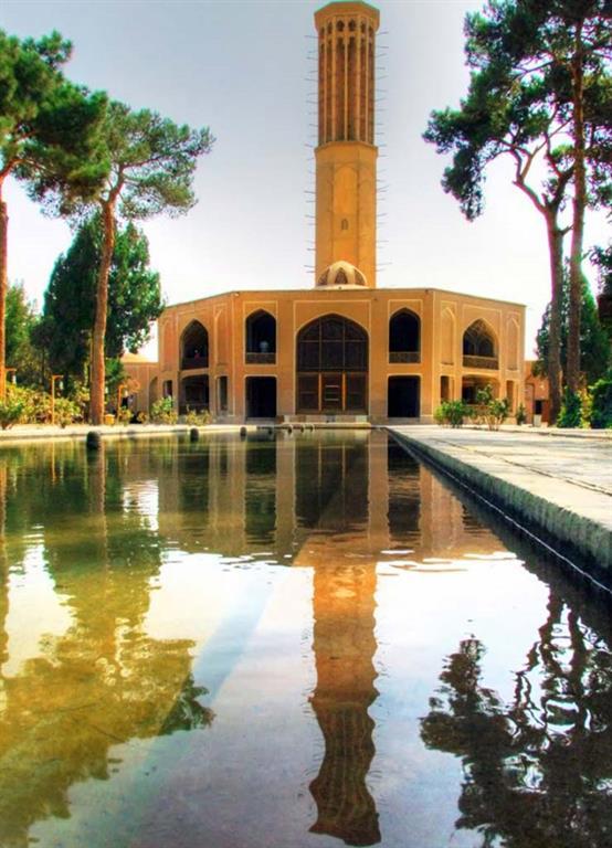 Image result for باغ دولت آباد یزد