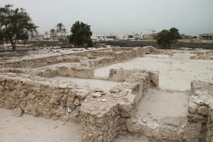 Jumeirah Archeological Site: Dubai