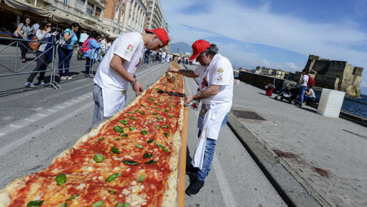 Neapolitan pizza, Italy