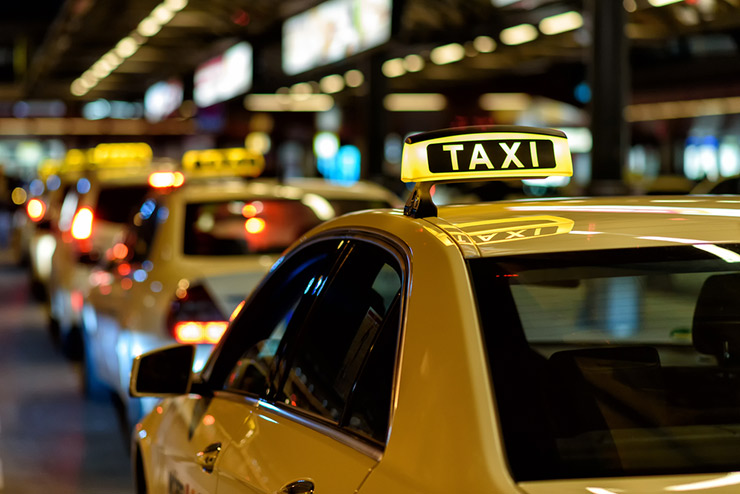 Take a Cab or Rideshare