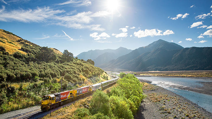 The TranzAlpine, New Zealand