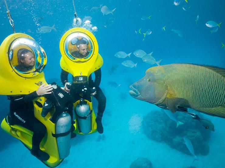 اسکوتر زیردریایی