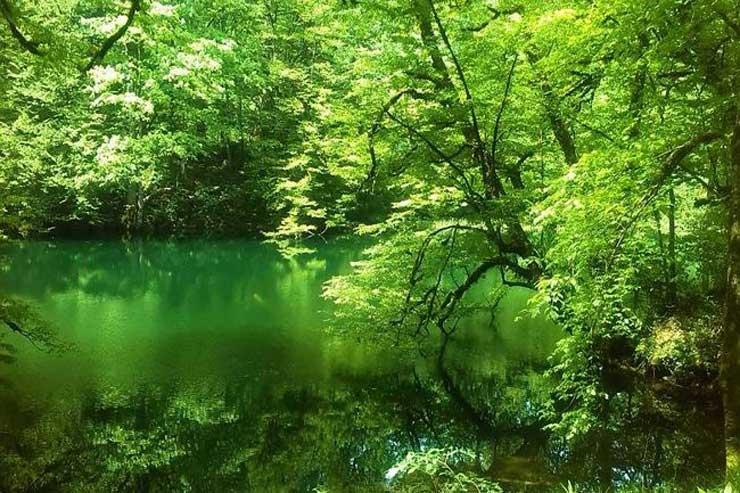 دریاچه فراخین تا آبشار دارنو