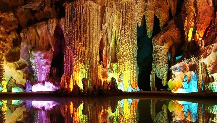 غار آبی علیصدر