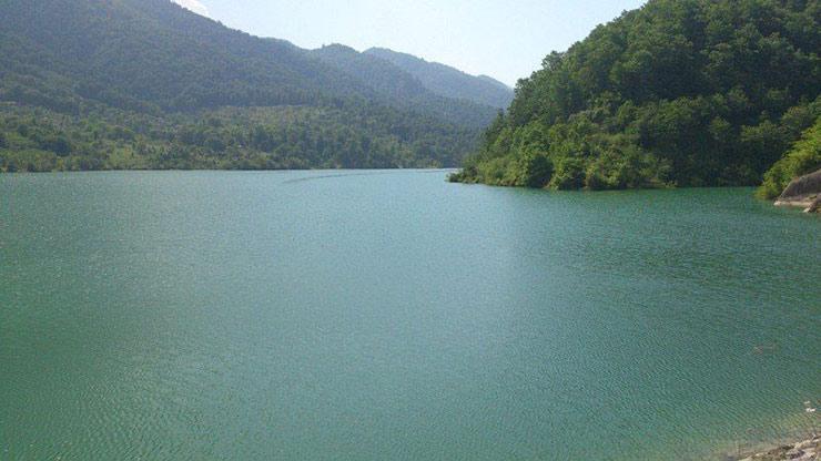 دریاچه سد میجران رامسر