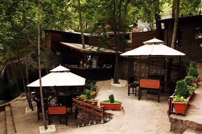 باغ رستوران کوهستان در تهران