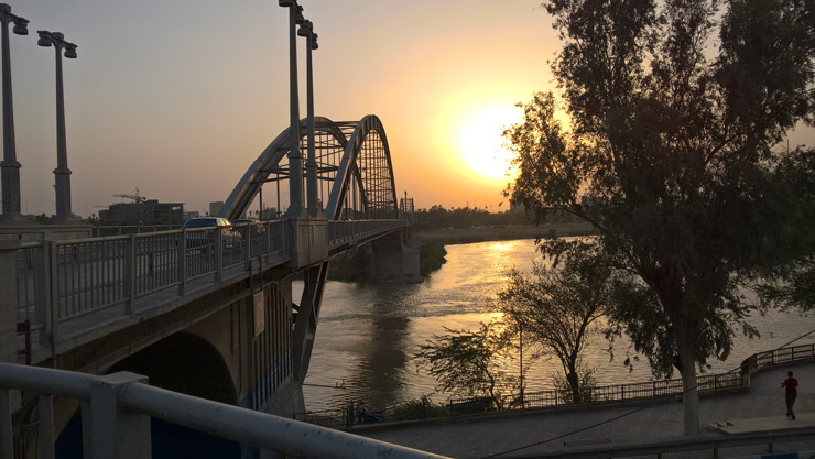 پل سفید و رود كارون اهواز