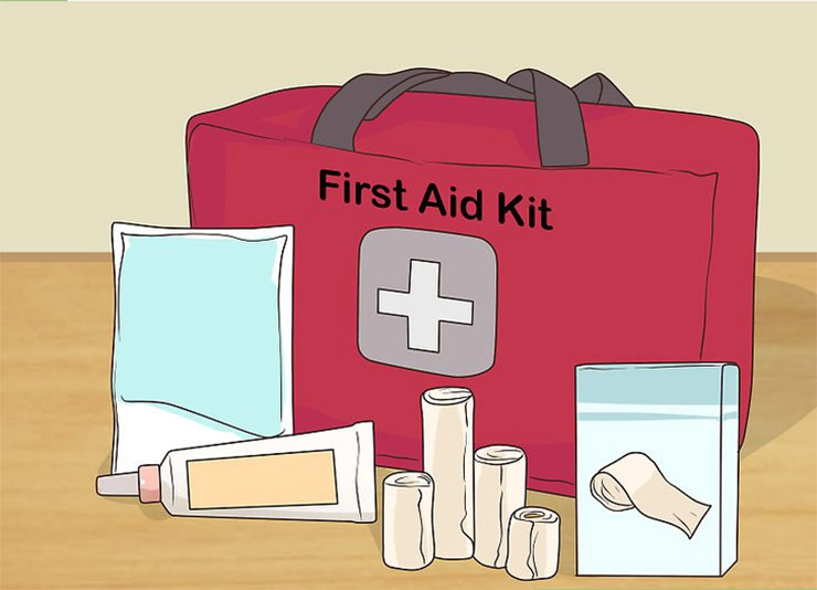Pack a first-aid kit