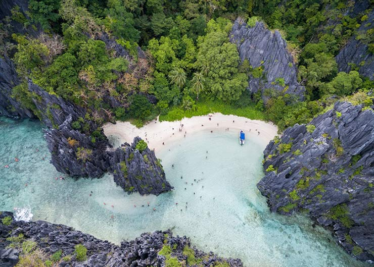 Hidden Beach, Palawan