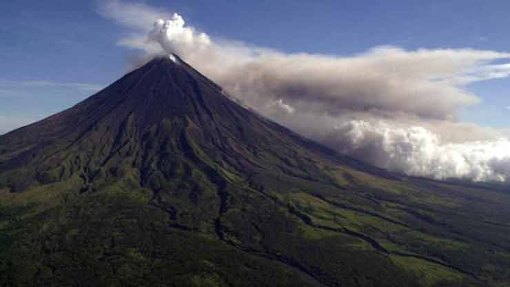 Mount Mayon, the Philippines