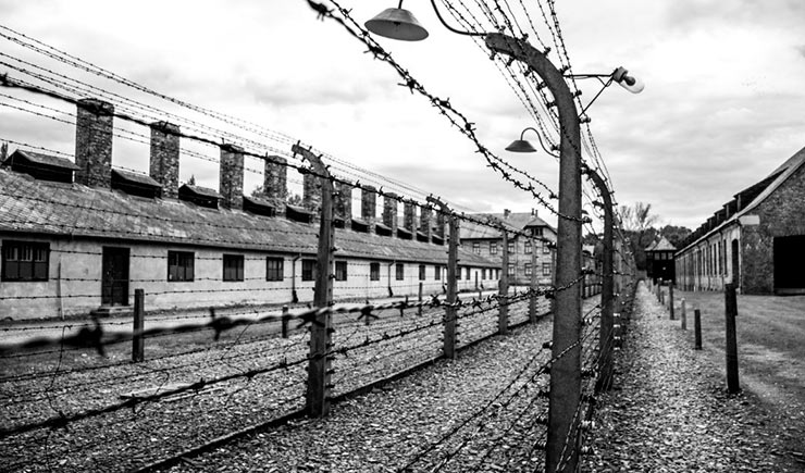 Concentration camp Auschwitz, Poland