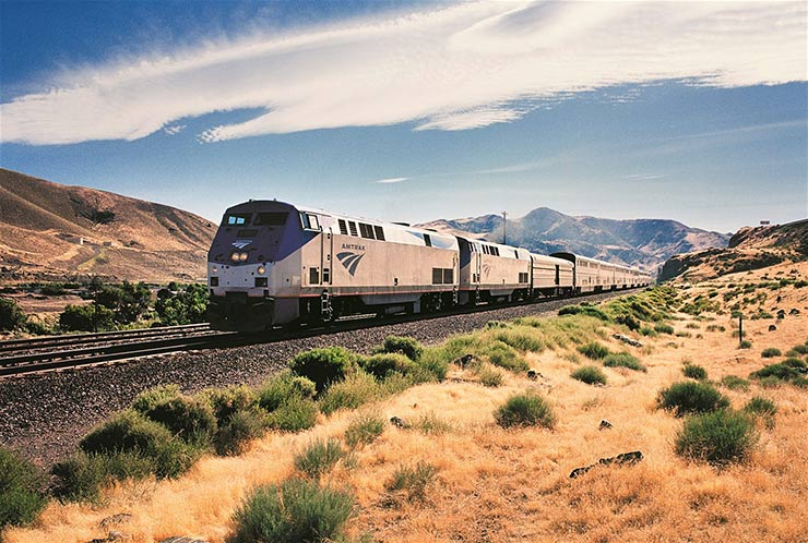The California Zephyr, USA