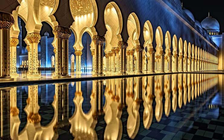 مسجد شیخ زاید ابوظبی
