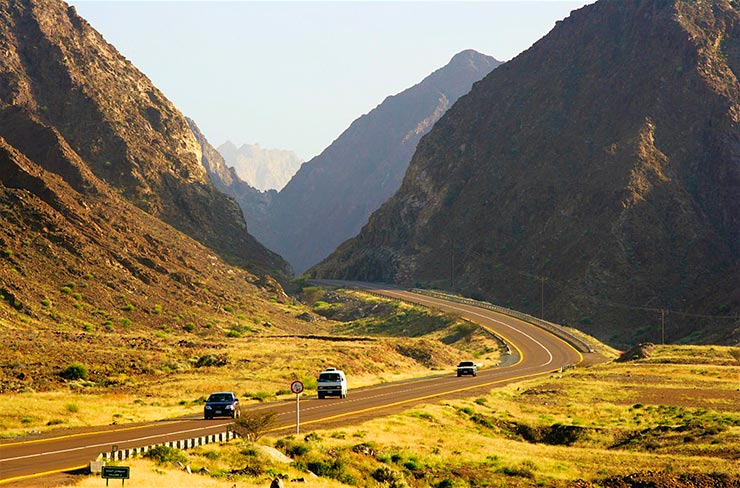 Escape Dubai to nearby Fujairah