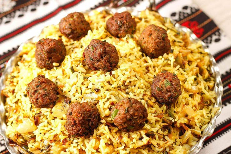 غذاهای شیراز