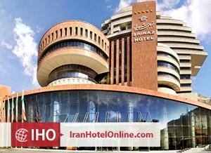 نمای هتل بزرگ شيراز